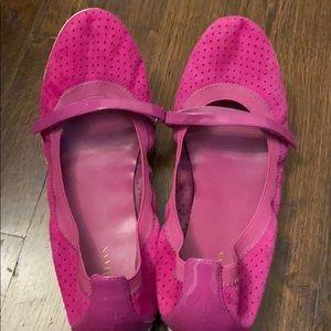 Cole Haan Hot pink ballet flats